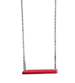Rubber Swing Seat Red