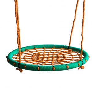 Stork Nest Swing Green