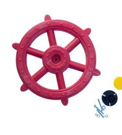 Marine Steering Wheel Red
